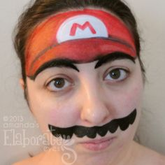 boy face painting ideas | Now I know this is supposed to be all about boy designs, but I couldn ...