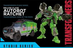 New Hasbro Transformers Studio Series coming Other Words For Evil, Hasbro Transformers, Live Action Movie, 2015 Movies, Ratchet, Marvel Dc, Action Figures, Monster Trucks, Geek Stuff
