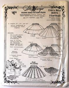 Jahrgang 1960 Womens Western elastische Taille Kreis Rock und