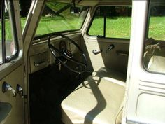 Willys Utility Wagon Front Interior