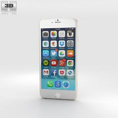 Apple iPhone 6 3d model from humster3d.com. Price: $40