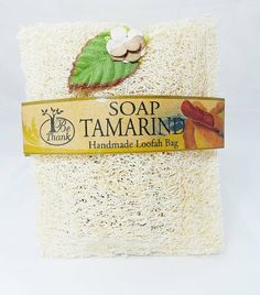 Tamarind Soap in Luffa Loofah Sponge Bag Natural Bath for Healthy Skin by Unknown. $9.99. For skin with a healthy and radiant shine, use these loofah sponges to alleviate stress and tension, while stimulating blood circulation. The natural texture of the vegetable fibers will gently exfoliate away roughness by revealing newer skin cells. Wet the loofah with warm water and douse it with the soap product of your choice. Loofahs are best used with body wash, but plain bar soap...