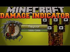 Damage Indicators Mod for Minecraft 1.8/1.7.10 -  Have you ever interested the mobs health or find some mods to check it? If you're looking, take a view to Damage Indicators Mod. It shows your mob health and the damage they suffer.  #Minecraft18Mods, #MinecraftMods1710 -  #MinecraftMods