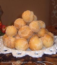 Castagnole Fritte-(sweet Lemon Fritters) Popular in the Emilia-Romagna Region