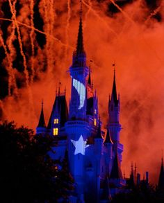 Love this!   Cinderella's Castle at Walt Disney World