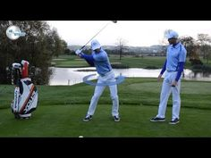 Golf Downswing Drill For Better Transition (+playlist)