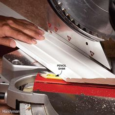 Use a Shim to Cut a Back Bevel