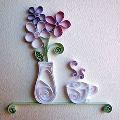Aprende Filigrana para hacer MANUALIDADES!! Arte Quilling, Paper Quilling Flowers, Quilling Work, Paper Quilling Designs, Quilling Paper Craft, Paper Crafts, Quilling Ideas, Paper Quilling For Beginners, Quilling Techniques
