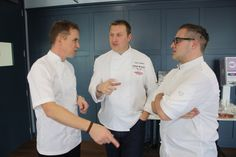 Our panel of judges deep in discussion! James Tanner, T Play, Judges, Chefs, New Product, Chef Jackets, Brand New, Deep
