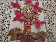 Çocuğumla Eğlenirken: Atrık Materyalden Ağaç
