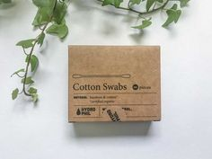 Biodegradable Cotton Swabs - Hydrophil