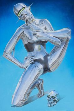 Retro Futurism Art, 70s Sci Fi Art, Arte Robot, Illustrator, Drawn Art, Arte Cyberpunk, Futuristic Art, Airbrush Art, Doja Cat