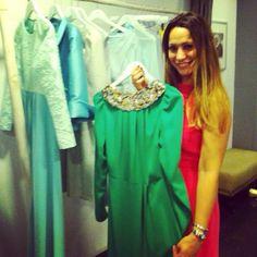 Natalia Verbeke nos visita en nuestra tienda de Almirante 18