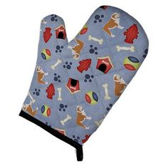 Caroline's Treasures English Bulldog Dog House Oven Mitt