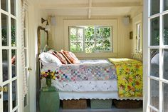 farm bedroom - I guess I really can't complain about my bedroom being small. I mean jeez 3 sides of the bed touch a wall!