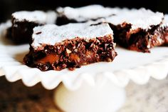 Knock You Naked Brownies from the Pioneer Woman.  I made these for a dinner party last night.  They are incredible.