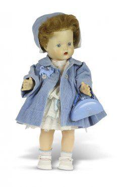 Anne-dukke med faste øyne og originale klær. Åsmund S. Lærdal
