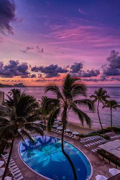 Vacation Honolulu, Hawaii, by Yoshitada Kurozumi
