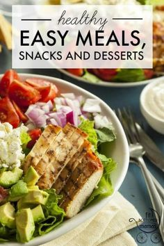 Healthy Easy Meals, Snacks and Desserts | Fit Bottomed Mamas