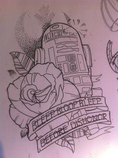 #r2d2 #starwars #tattoo