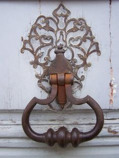 Antique door knocker...