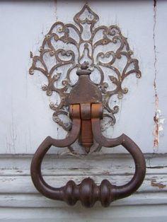 heurtoir de porte à Louviers, Eure, France