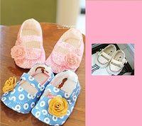 Custom Baby Shoe - Jacqueline Baby Booties