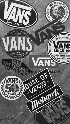 I like the theme of greyscale. also the repetition if the brand name, this draws… I like the theme of greyscale. also the repetition if the brand name, this draws attention. Iphone Wallpaper Vans, Handy Wallpaper, Hype Wallpaper, Retro Wallpaper, Tumblr Wallpaper, Black Wallpaper, Aesthetic Iphone Wallpaper, Aesthetic Wallpapers, Wallpaper Backgrounds