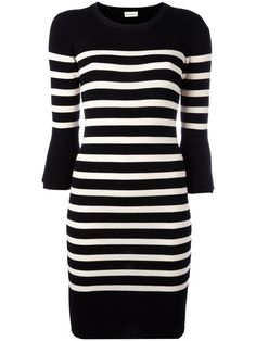 BY MALENE BIRGER Striped Knitted Dress. #bymalenebirger #cloth #dress