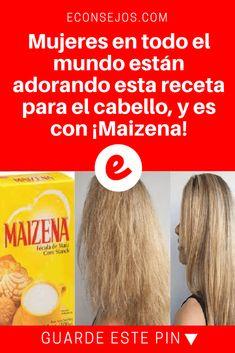Maicena cabello | Mujeres en todo el mundo están adorando esta receta para el cabello, y es con ¡Maizena! | Esta receta a recorrido todo el mundo debido a su gran suceso. ¡Y ahora llegó la hora que usted aprenda! Lea y sepa como hacerla y aplicarla.