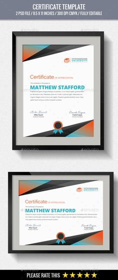 Multipurpose Certificates - Certificate Template PSD. Download here: http://graphicriver.net/item/multipurpose-certificates/15941155?s_rank=2&ref=yinkira