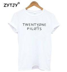 Find More T-Shirts Information about TWENTY ONE PILOTS Letters Print Women tshirt Cotton Casual Funny t shirt For Lady Girl Top Tee Hipster Drop Ship S 8,High Quality t shirt,China women tshirt Suppliers, Cheap women tshirts cotton from ZYTJY Hipster Store on Aliexpress.com