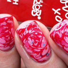 Nail Polish Society: Marble Roses