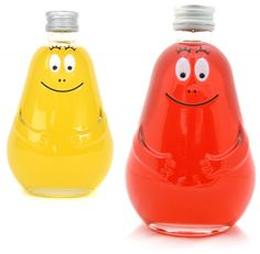 Barbapappa drink. I had a book or something of these characters!