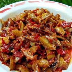 Simple recipes for special daily menus - Simple recipes for special daily menus - Quick Recipes, Asian Recipes, Cooking Recipes, Healthy Recipes, Ethnic Recipes, Simple Recipes, Farfalle Recipes, Sambal Recipe, Mie Goreng