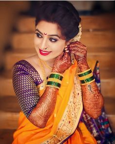 Image may contain: one or more people and closeup Indian Bridal Photos, Bridal Hairstyle Indian Wedding, Indian Wedding Outfits, Indian Photoshoot, Saree Photoshoot, Indian Wedding Photography Poses, Girl Photography Poses, Beautiful Girl Indian, Beautiful Indian Actress