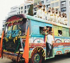 Major Lazer bus from the 'Lean On' video