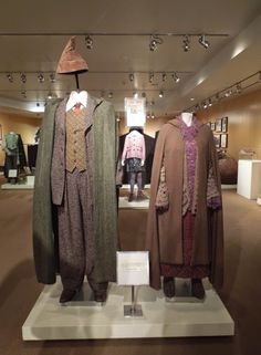 Arthur & Molly Weasley Harry Potter movie costumes