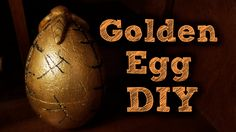 I'm finally back with a new DIY and today I'm making the Golden Egg from Harry Potter and the Goblet of Fire. I really hope you enjoyed this video, if you di...