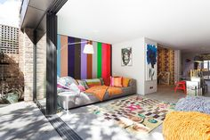 15 salas coloridas para você se inspirar - limaonagua
