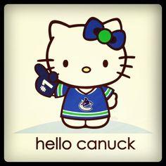 #Canucks #hellokitty #instagram