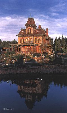 #Disneyland Paris. Phantom Manor in Frontierland #DLRP #DLP #Disney