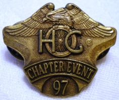 HOG Chapter Event Pin 1997