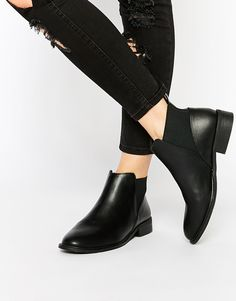Image 1 of Monki Clean Ankle Boots