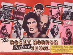 Original The Rocky Horror Picture Show, UK Quad, Linen Film/Movie Poster 1975 Rocky Horror Show, The Rocky Horror Picture Show, We Movie, Film Movie, Horror Movie Posters, Horror Movies, Film Posters, Los Rolling Stones, Poster Online