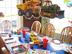 Construction Birthday Party by Kid's Birthday Parties, via Flickr