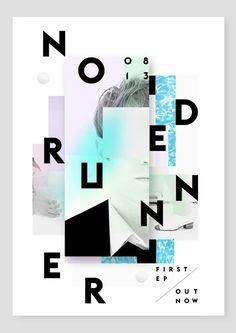 NODE RUNNER by Alain Vonck, via Behance: