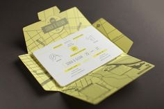 ApetitPois*design │ Design and Style with a French Attitude: Aerogram invitation by 'The Hungry Workshop'