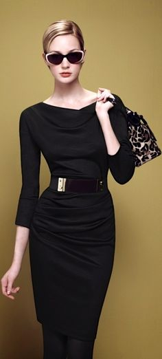 .LBD classic but with interesting element