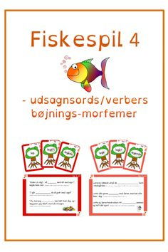 Du søgte efter Fiskespil - Bubbleminds Classroom, Education, School, Danish Language, Grammar, Studying, Class Room, Onderwijs, Learning